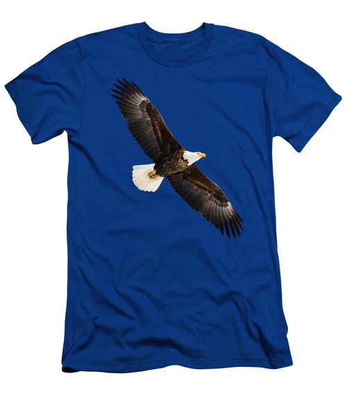 Soaring Eagle Men's T-Shirt (Slim Fit) by Greg Norrell