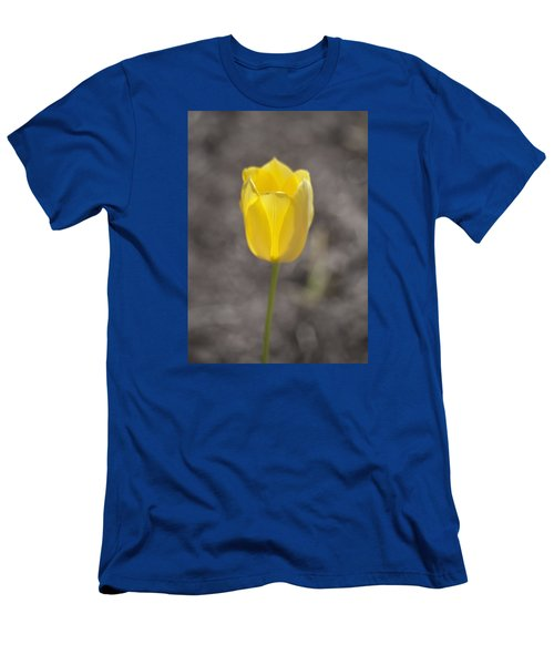 Soft And Yellow Men's T-Shirt (Athletic Fit)