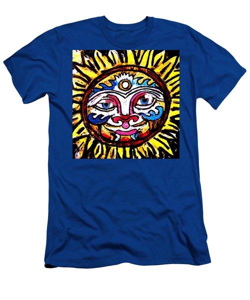 Sol Horizon Band Men's T-Shirt (Athletic Fit)