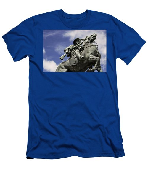 Soldier In The Boer War Men's T-Shirt (Athletic Fit)