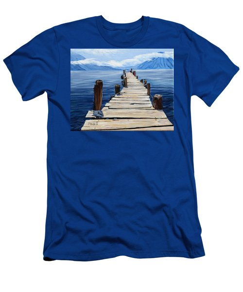 Crooked Dock  Men's T-Shirt (Athletic Fit)