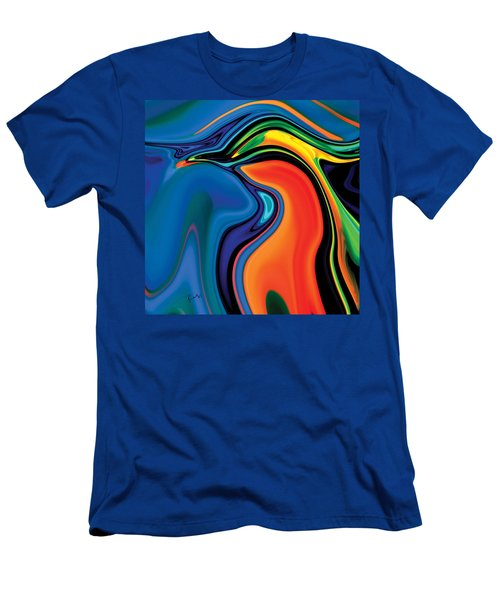 Men's T-Shirt (Slim Fit) featuring the digital art Soul Bird 2 by Rabi Khan