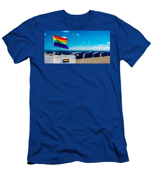 South Beach Pride Men's T-Shirt (Athletic Fit)
