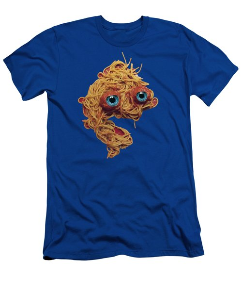 Spaghetti Face Men's T-Shirt (Athletic Fit)