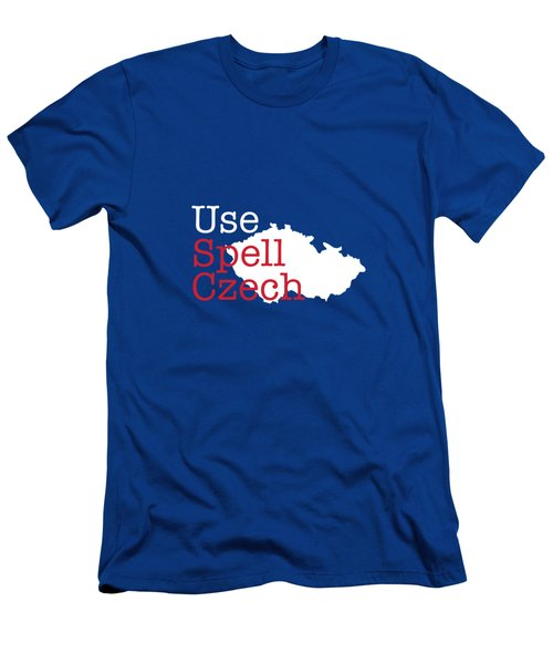 Spell Check Men's T-Shirt (Athletic Fit)