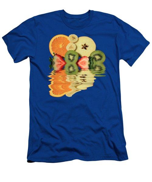 Split Reflections Men's T-Shirt (Slim Fit) by Shane Bechler