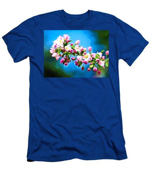 Spring Impressions Men's T-Shirt (Slim Fit) by Greg Norrell