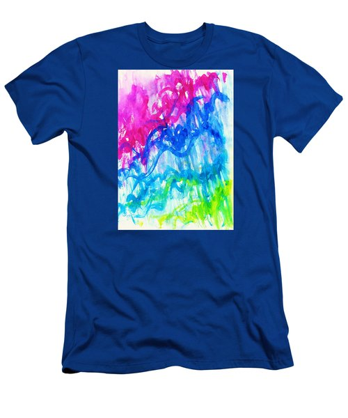 Intuition Men's T-Shirt (Slim Fit) by Martin Cline