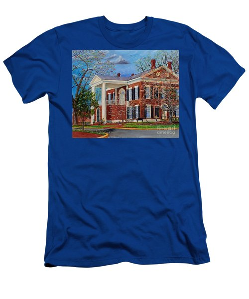 Spring Planting At The Dahlonega Gold Museum Men's T-Shirt (Athletic Fit)