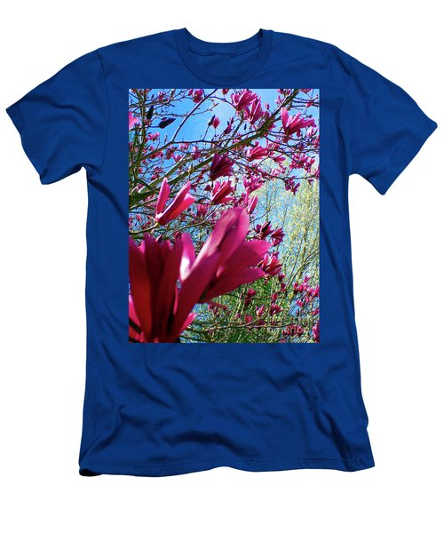Spring Sky Men's T-Shirt (Athletic Fit)