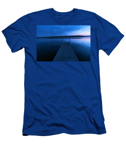 Springbrook Lake At Dawn Men's T-Shirt (Athletic Fit)
