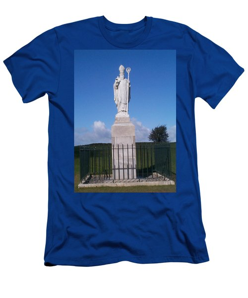 Men's T-Shirt (Slim Fit) featuring the photograph St Patrick by Charles Kraus