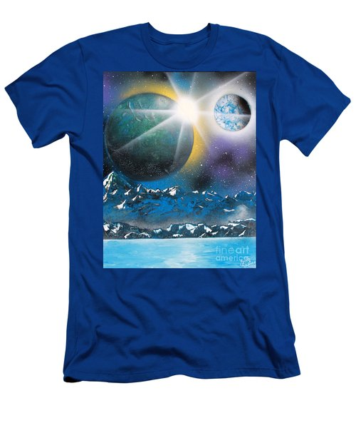 Star Burst Men's T-Shirt (Athletic Fit)