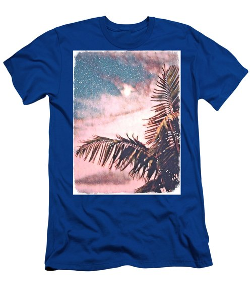 Starlight Palm Men's T-Shirt (Athletic Fit)