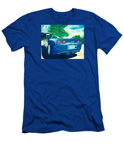 Steve's Corvette Men's T-Shirt (Athletic Fit)