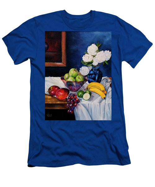 Still Life With Snowballs Men's T-Shirt (Athletic Fit)