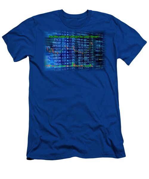 Stock Exchange Men's T-Shirt (Slim Fit) by Anastasiya Malakhova