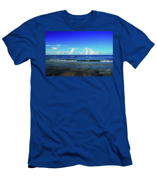 Men's T-Shirt (Athletic Fit) featuring the photograph Storm On The Horizon by Gary Wonning