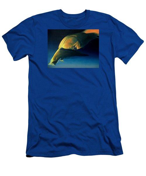 Strange Weather Men's T-Shirt (Slim Fit) by Vivien Rhyan