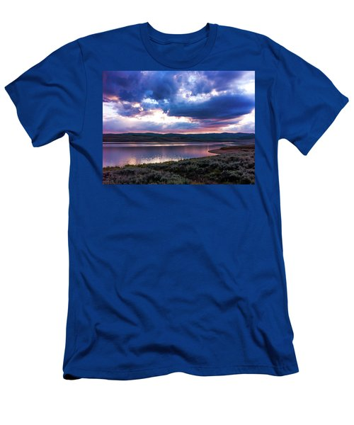 Strawberry Sunset Men's T-Shirt (Athletic Fit)