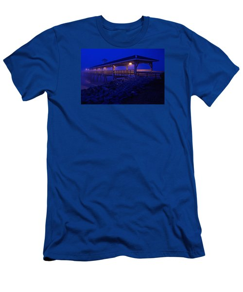 Once In A Blue Mood Men's T-Shirt (Slim Fit) by Laura Ragland
