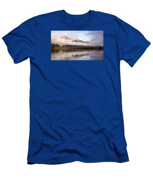 Sullivan Island Sunset Men's T-Shirt (Slim Fit) by Michele Cornelius