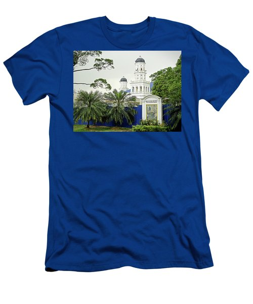 Sultan Abu Bakar Mosque Men's T-Shirt (Athletic Fit)