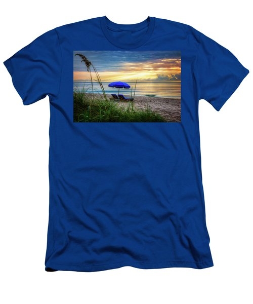 Men's T-Shirt (Slim Fit) featuring the photograph Summer's Calling by Debra and Dave Vanderlaan