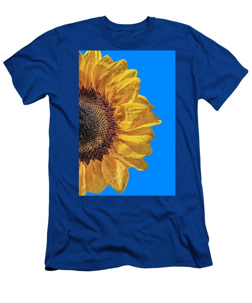 Sunflower In The Sun Men's T-Shirt (Athletic Fit)