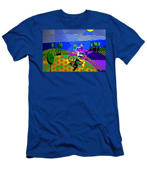 Sunny Acres Men's T-Shirt (Athletic Fit)