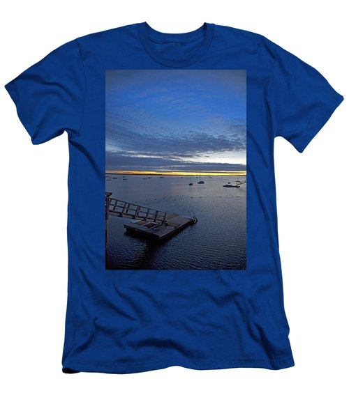 Sunrise At The Barnstable Yacht Club Men's T-Shirt (Athletic Fit)