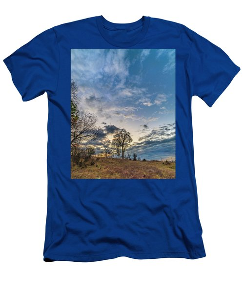 Sunrise On The Back Hill Men's T-Shirt (Athletic Fit)