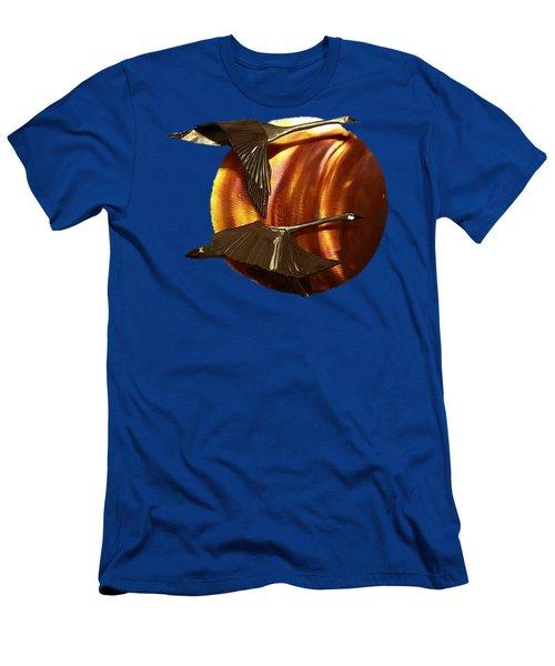 Sunrise Men's T-Shirt (Slim Fit) by Troy Rider