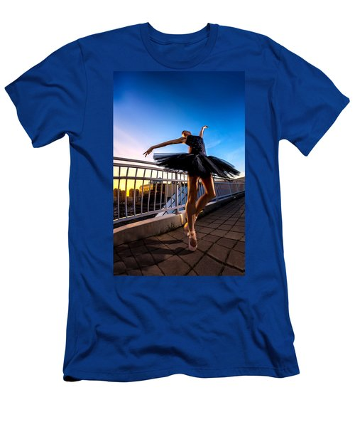 Sunset Dancer Men's T-Shirt (Athletic Fit)