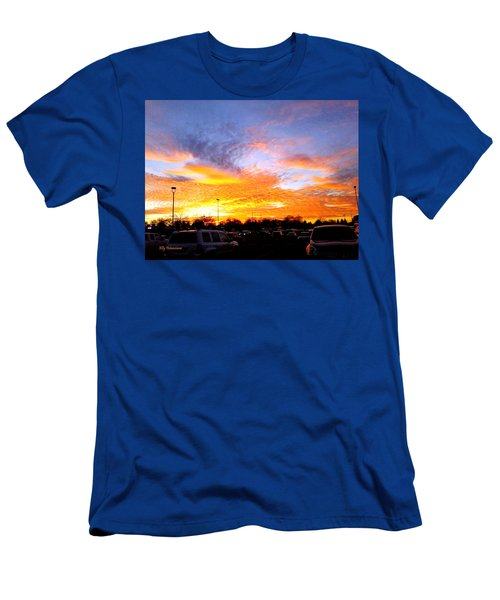 Sunset Forecast Men's T-Shirt (Athletic Fit)