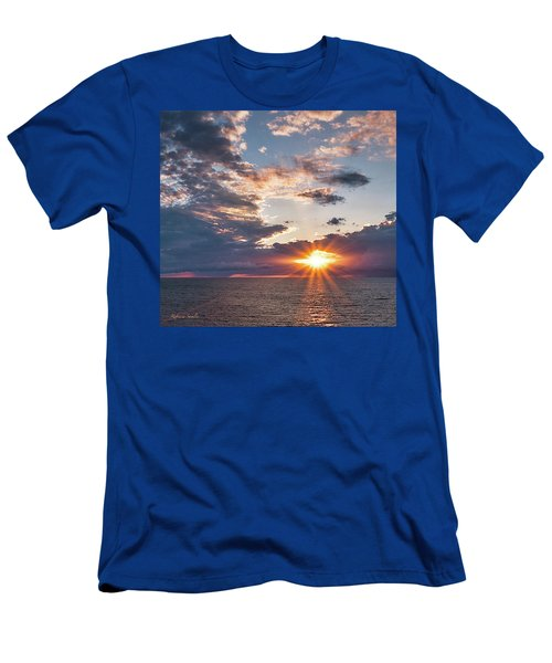 Sunset In The Clouds Men's T-Shirt (Athletic Fit)