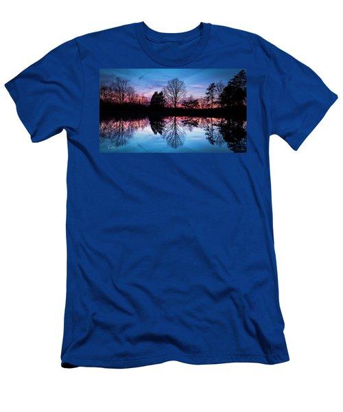 Sunset Symmetry Men's T-Shirt (Athletic Fit)