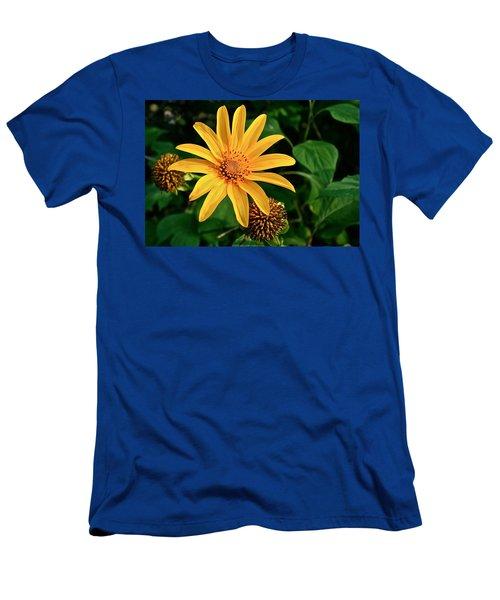 Sunshine Cheerleader Men's T-Shirt (Slim Fit) by Kathleen Scanlan