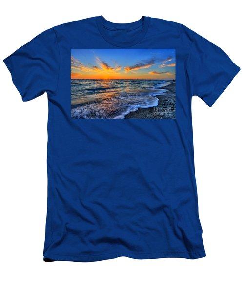 Men's T-Shirt (Slim Fit) featuring the photograph Sunshine Skies by Scott Mahon