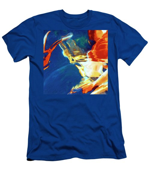 Men's T-Shirt (Slim Fit) featuring the painting Sunspot by Dominic Piperata