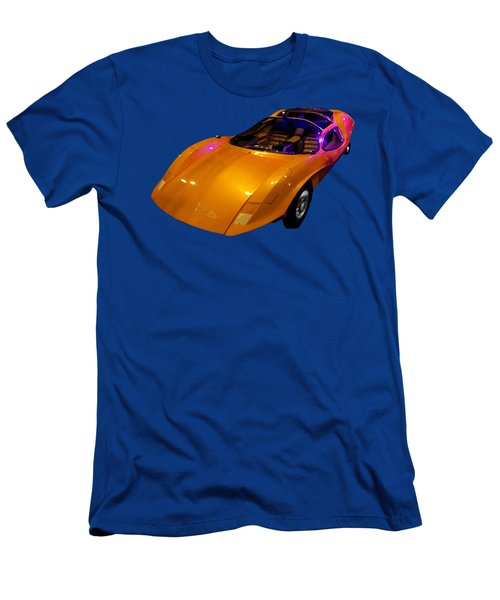 Super Car Orange Art Men's T-Shirt (Athletic Fit)