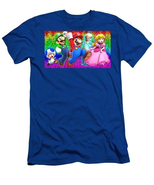 Super Mario 3d World Men's T-Shirt (Athletic Fit)