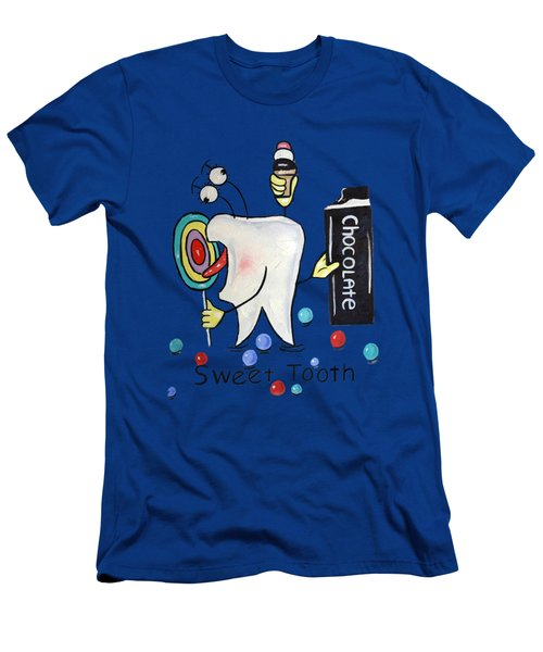 Sweet Tooth T-shirt Men's T-Shirt (Athletic Fit)