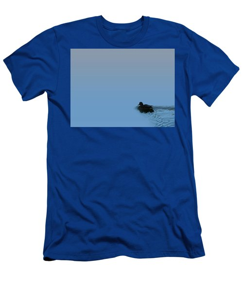 Swimming Duck Men's T-Shirt (Athletic Fit)
