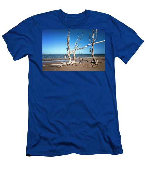 Swingin' At Low Tide Men's T-Shirt (Athletic Fit)