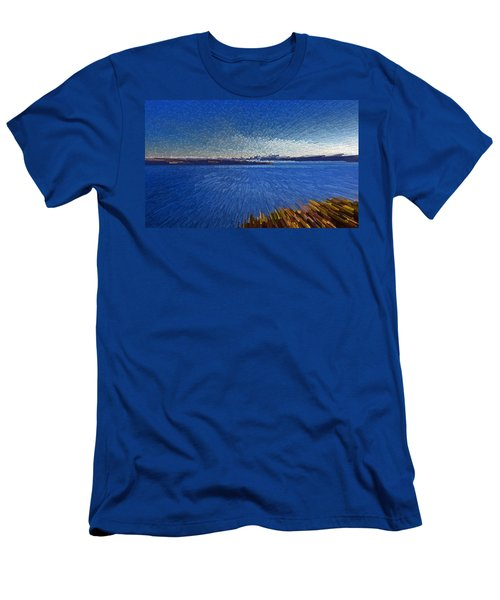 Sydney From North Head Men's T-Shirt (Athletic Fit)