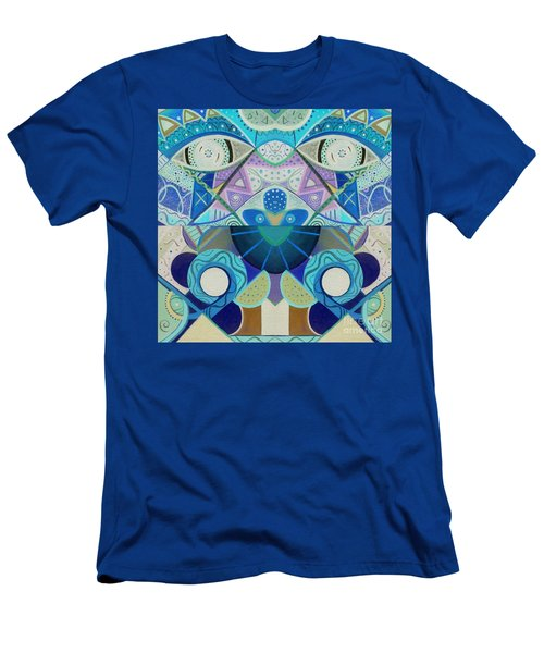 T J O D Tile Variation 3 Inverted Men's T-Shirt (Athletic Fit)