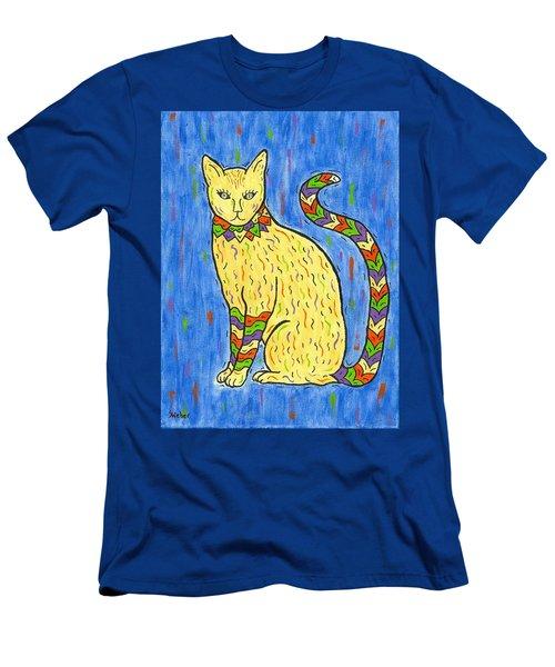 Tabby Kat Men's T-Shirt (Slim Fit) by Susie WEBER