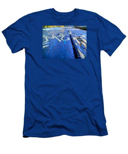 Table Graffiti Men's T-Shirt (Slim Fit) by KD Johnson
