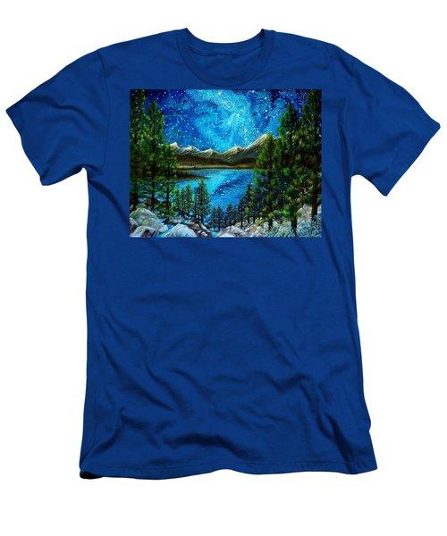 Tahoe A Long Time Ago Men's T-Shirt (Slim Fit) by Matt Konar
